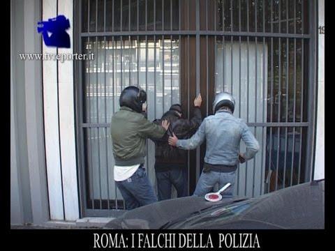 ANTI RAPINA, I FALCHI DELLA POLIZIA