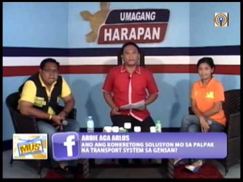 Umagang Harapan – Custodio and Rivera – Mayoralty Race, Gensan #PHGE13