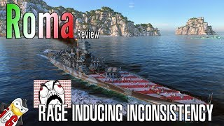 World of Warships - Roma Review - Rage Inducing Inconsistency