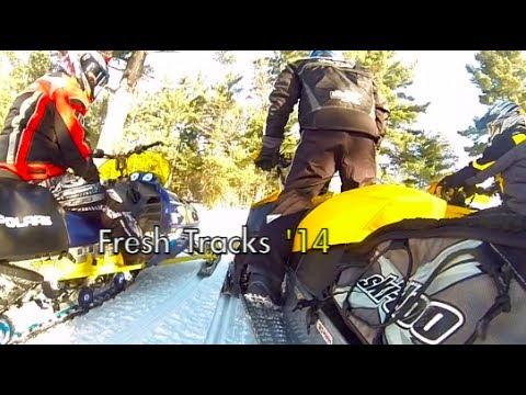 Fresh Tracks '14 - Northern WI Snowmobiling