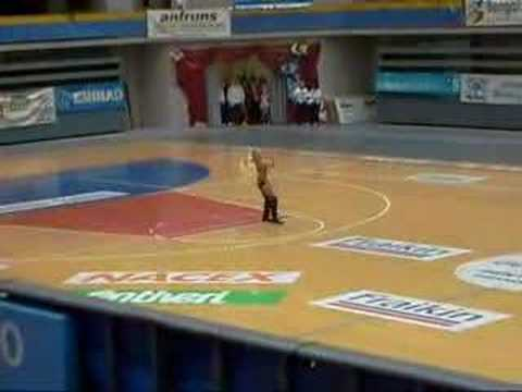 Colin Walls Dance twirl Spain 2008 Video