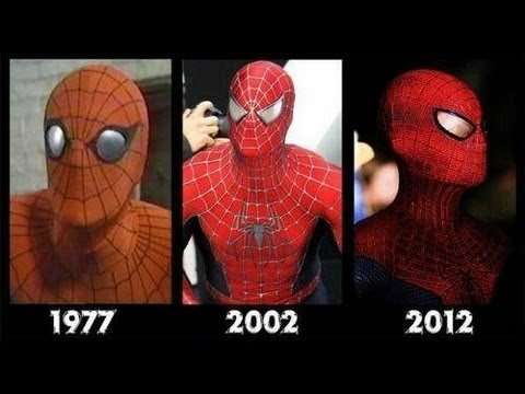 Spider-man All movies 1977. 2002. 2012- Spiderman-  [Compilation movies]- El hombre araña.
