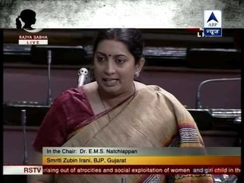 At least listen to Sonia Ji:Smriti Irani
