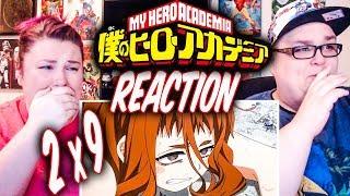 "My Hero Academia Episode 22 (2x9) REACTION!! ""Bakugo vs. Uraraka"""