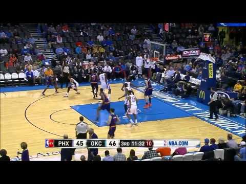 Phoenix Suns 14 Threes vs Oklahoma City Thunder (11/3/13)