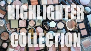 HIGHLIGHTER COLLECTION | Makeup Graveyard 2016 - Tati (GlamLifeGuru)