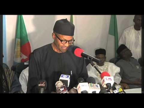 Buhari asks Nigerians to unite as one nation