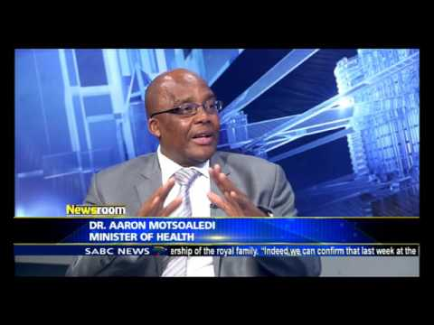Doctor Aaron Motsoaledi on World No Tobacco Day