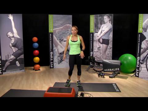 CIRCUITO PARA QUEMAR GRASA de cuerpo al máximo de Samantha Clayton |  Herbalife
