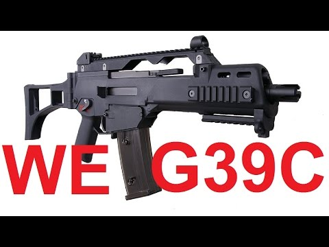 Análise (Review) Arma de Pressão Airsoft WE G39C GBB (HK G36C)