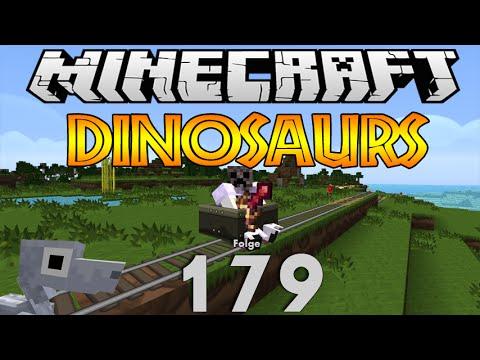 Minecraft Dinosaurs: #179 Eisenbahnstrecke HD