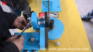 Working Video of Stirrup Bending Machine With Callipers
