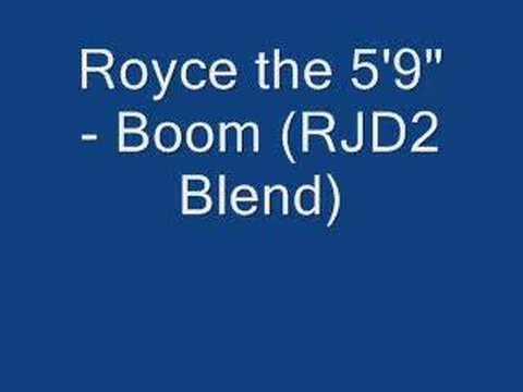 Royce Da 59 - Boom (RJD2 Blend)