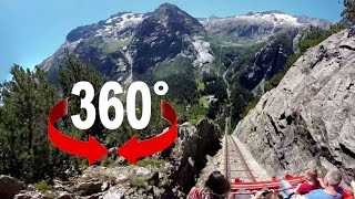 360° ride | Gelmerbahn | Europe