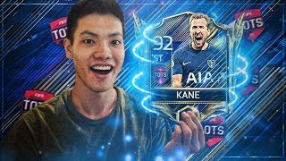 92 OVR TOTS KANE PLAYER GAMEPLAY + REVIEW! FIFA Mobile 18 Best Striker In Game?