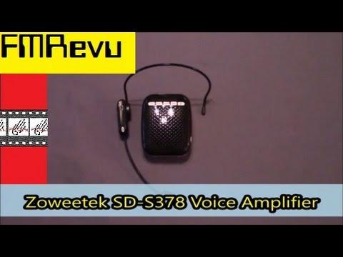 Zoweetek SD-S378 Voice Amp & Recorder   MP3 player FM Radio