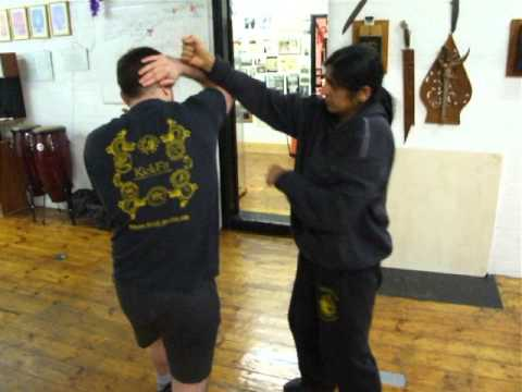 Filipino Kali-Silat-JKD Elbow Cover Sensertivity Training  Kickfit Martial Arts Nottinggham,UK Image 1