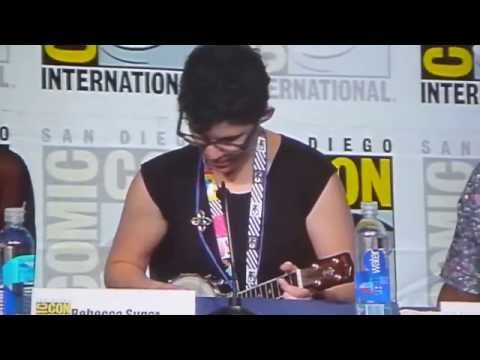 Rebecca Sugar and Olivia Olson sing Everything Stays SDCC 2015