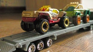 Transportation of Toy Military and Offroad Vehicles