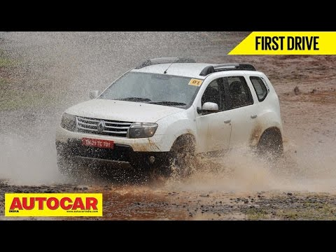 2014 Renault Duster All Wheel Drive   First Drive Video Review   Autocar India