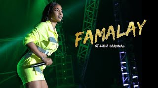 Shenseea LIVE at Famalay (St. Lucia Carnival 2019)