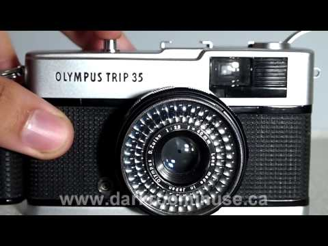 Olympus Trip 35 Camera Walkthrough