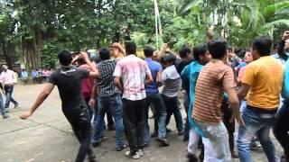 Lets Singam dance at Vishwakarma puja