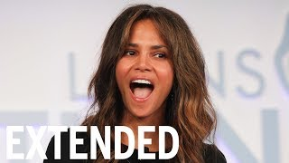 Halle Berry Loves 'Wine Time' - Just Like Us | EXTENDED