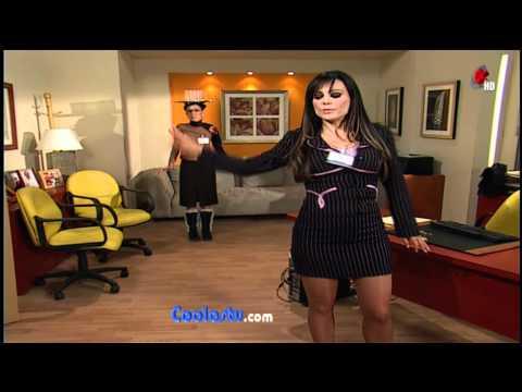 Maribel Guardia NALGONA EN MICROFALDA...!!!