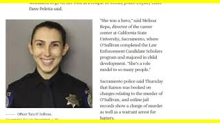 Sacrament Officer Killed Right Out Of Academy - Why?  Is It Training or Standards?