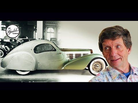 History of the 1935 Bugatti Aerolithé