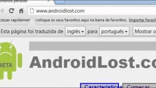 Como localizar um Smartphone com sistema Android usando a Internet?