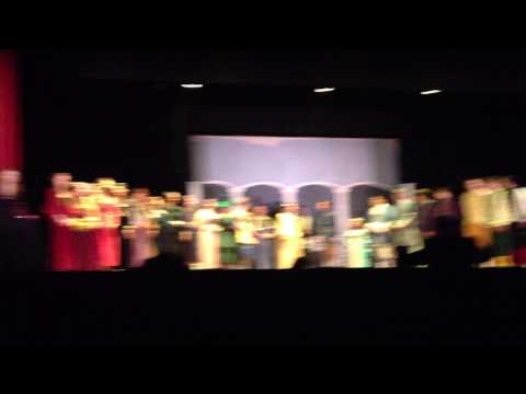 The wedding scene from Delone Catholic High School's Cinderella - 03/22/2013