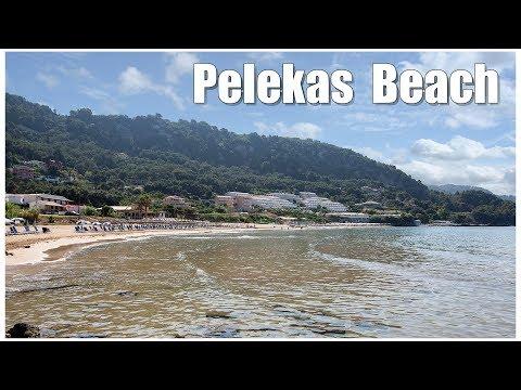 Корфу:  Pelekas  &  Pelekas Beach, Corfu