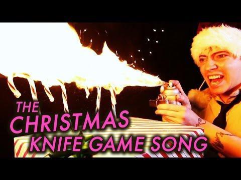 The CHRISTMAS Knife Game Song!