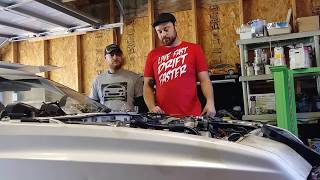 Project Grandpa: 1989 Chrysler Conquest Engine Removal