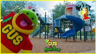 Bug Catching at the Outdoor Playground Park + Learn Insects