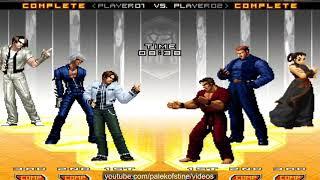 KOF 2002 UM - 檳榔 (Bin lang) VS 台灣-阿澤 (Aze)【02•01•2019 FT10】