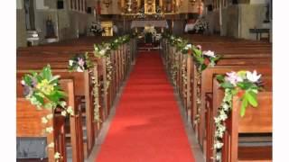 Flores Para Iglesia Boda