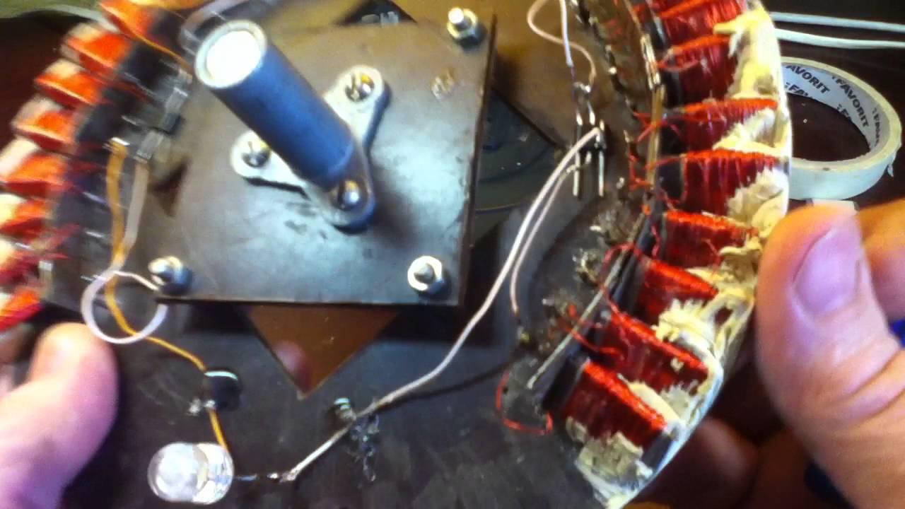 Генераторы на неодимовых магнитах своими руками 188