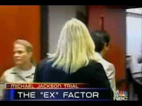 April 28 2005 in the Michael Jackson Trial:Jennifer London/ Debbie Rowe testifies