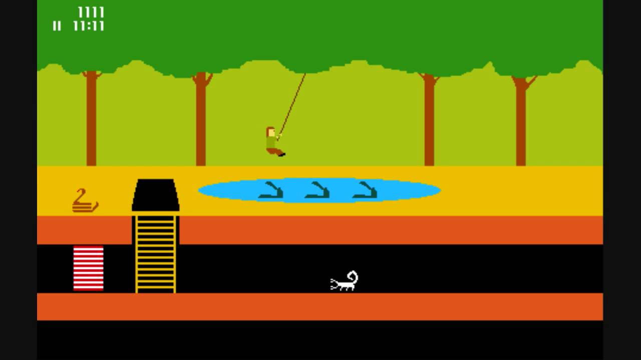 Pitfall Rope Swing In Ms Paint Youtube