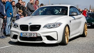 BMW M2 F87 w/ M Performance Exhaust - Revs & Accelerations !