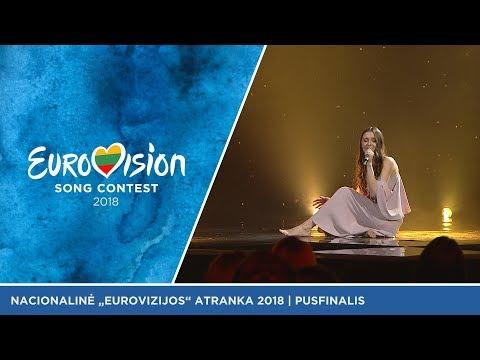 """Ieva Zasimauskaitė - """"When we're old"""" (liet. """"Apie mus, pasenusius"""") - Eurovizijos pusfinalis"""