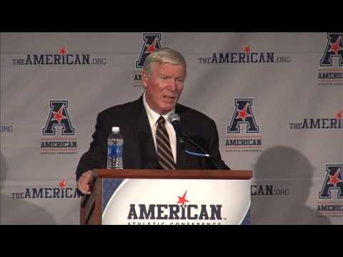 George O'Leary • The American Conference Media Day