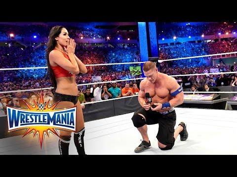 John Cena proposes to Nikki Bella: WrestleMania 33 (WWE Network Exclusive) thumbnail