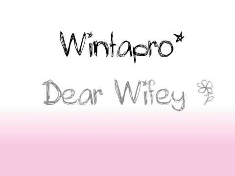 WintaPro - Dear Wifey Instrumental Video