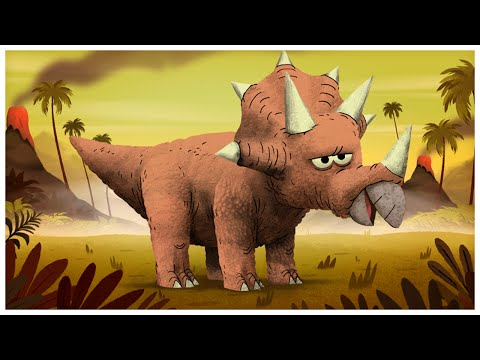 """""""Triceratops,"""" Dinosaurs Songs by StoryBots"""
