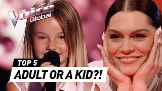 These MATURE VOICES SHOCK The Voice Kids coaches