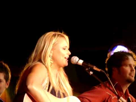 Miranda Lambert -only Prettier- Cma Fest 2010 Fan Club Party video